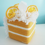 Lemon Tissue Box Cozy thumb