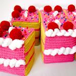 Pink Sheet Cake thumb