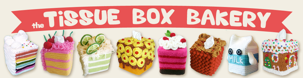 Tissue Box Bakery Crocheting for a cause.
